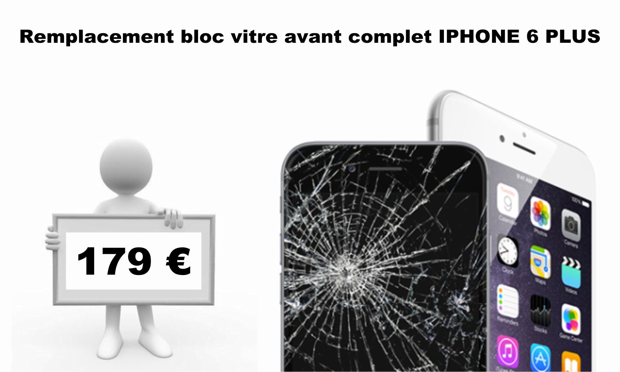 écran iphone 6 plus